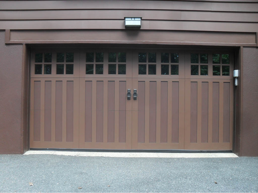 Garage door repair hamilton by professional garage door team for Composite wood garage doors